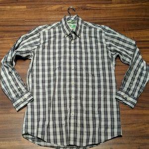 NWOT Forsyth of Canada Non Iron Shirt size medium